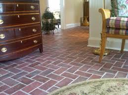 brick floor tile