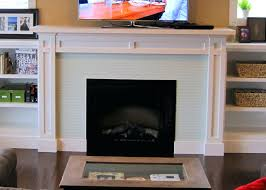 lcd electric fireplace insert fireplaces direct baseboard heaters