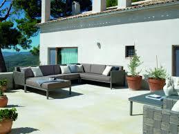 canapé d angle jardin fauteuil d angle de jardin aluminium et fibre synthétique brin d ouest