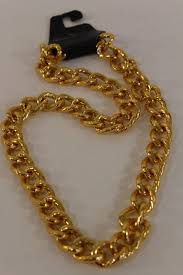 necklace gold men images Gold metal thick chain links heavy long chunky necklace new men jpg