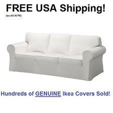 Ektorp 3 Seater Sofa Bed Cover Ikea Holmsund Three Seat Sofa Bed Cover Ransta White Ebay