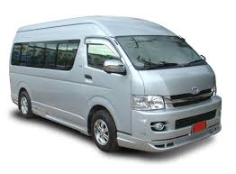 nissan urvan 15 seater green matrix car rental at langkawi airport
