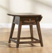 Broyhill Attic Heirloom Bedroom Broyhill Furniture Attic Rustic Splay Leg End Table With 1 Drawer