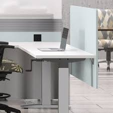 Office Desk Privacy Screen Fabric Privacy Screen Accessories Accents National Office