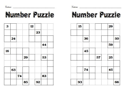 100 chart puzzles real fitness