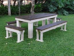 patio table and bench outdoor furniture outdoor benches garden benches patio benches