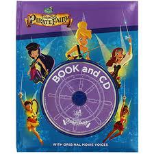 tinkerbell pirate fairy book cd disney