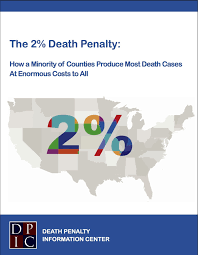 Death Penalty States Map by New Report From Dpic Death Penalty Information Center
