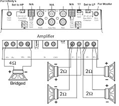 4 channel amplifier wiring diagram gooddy org