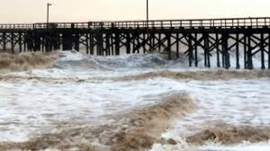 black friday santa barbara santa barbara storm at goleta beach on friday february 17 2017
