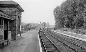 Bartlow railway station