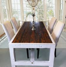 good narrow dining room tables with skinny dining table