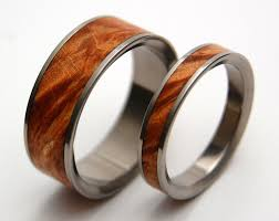 wood wedding bands wood wedding bands by minter richter on etsy rings