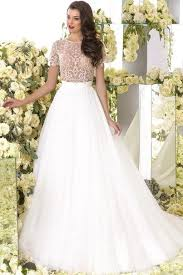 beaded wedding dresses short sleeve wedding dress cheap jewel