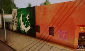 Photo Editor Pakistan Flag Pakistani Flag Graffiti Wall Für Gta San Andreas