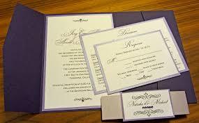 folded wedding invitations wedding invitation pocketfold amulette jewelry