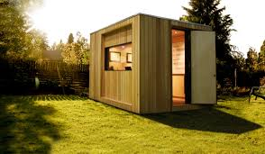 home office excellent cube shaped prefab home office which has