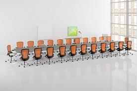 modern boardroom table hon preside large boardroom contemporary conference table