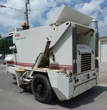 1989 fmc vanguard v3000sp street sweeper item bz9639 sol