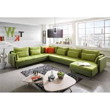 couch u form wohnlandschaft u form kunstleder wohnlandschaft stoff hell grau
