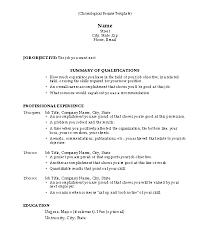 Professional Format Resume Professional Resume Format Samples Jospar