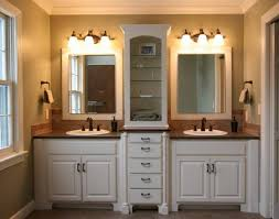agreeable double vanity with marble top also wall lights vanity