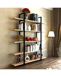 deal alert tribesigns 5 tier bookshelf vintage industrial style