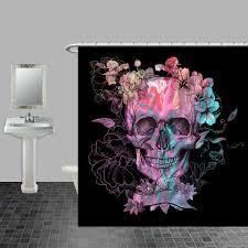 Sugar Skull Bathroom Best 25 Sugar Skull Shower Curtain Ideas On Pinterest Sugar