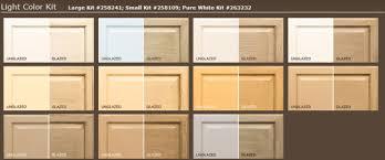 Rustoleum Cabinet Refinishing Kit Rustoleum Cabinet Transformations Color Chart Nrtradiant Com