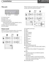 pioneer avh p6300bt wiring harness pioneer avh p6300bt bluetooth