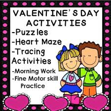 free freebie valentine u0027s day morning work worksheets no prep print