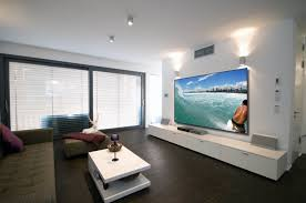 projector home theater screen innovations black diamond zero edge projection screen
