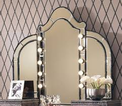simple and neat design ideas using bedroom vanity mirror with