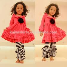ruffle girl hot sale cotton fall ruffle girl for usa market buy usa