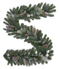 buy 6ft tacoma frosted garland unlit