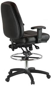 Boss Drafting Stool With Adjustable Arms And Footring Architect