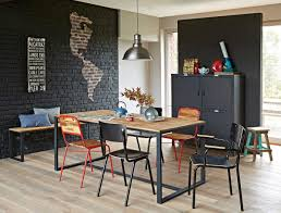 deco table marin industrial style with kenisa kenisa home