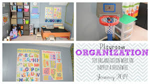 Toy Organization Toy Organization Week Playroom Tour Youtube