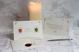 sts for wedding invitations family crest wedding invitations tent style with postcard