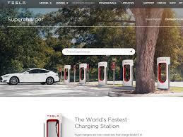 Tesla Supercharger Map Maps U2013 West Coast Electric Fleets