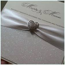 silver wedding invitations elegance wedding invitation royal blue ribbon with heart
