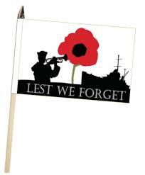 lest we forget royal navy rn poppy large hand waving flag