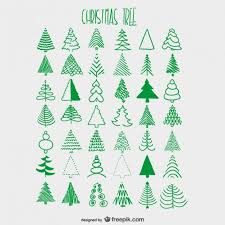 25 christmas tree drawing ideas christmas