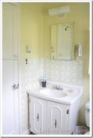Small Bathroom Makeover by Small Bathroom Makeover Reveal Harbour Breeze Home