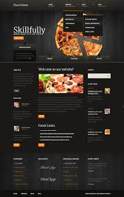 website template 41308 pizza parlour house custom website