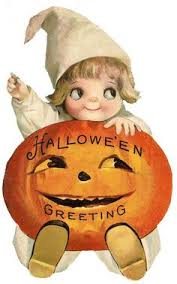 clipart of a retro vintage black and white jack the giant killer 4 antique photo of a little holding a jack o lantern candy