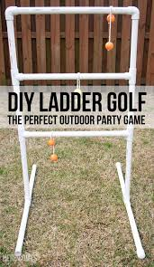 Easy Backyard Games Diy Ladder Golf An Easy Tutorial For The Perfect Party Game