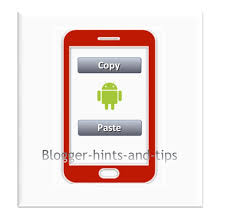 copy and paste android how to copy and paste a website address on an android smartphone
