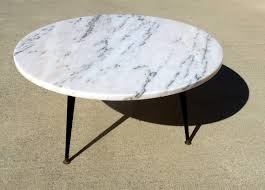mid century marble coffee table marble coffee table round 1960 mid century mode marbles mid