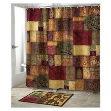 Country Shower Curtains For The Bathroom Adirondack Pine Country Shower Curtain By Avanti Product Reviews